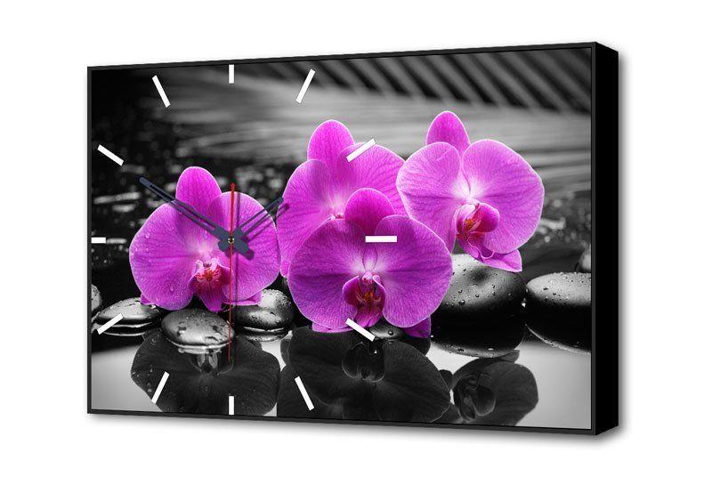 Часы-картина Цветы Орхидея TL-C5017
