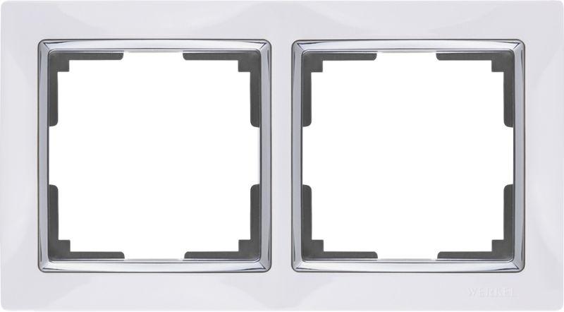 Рамкана2поста(белый W0021901