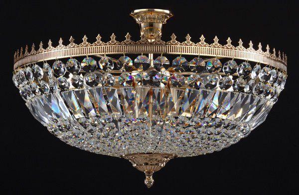 Потолочная хрустальная люстра Diamant 3 B500-PT50-G