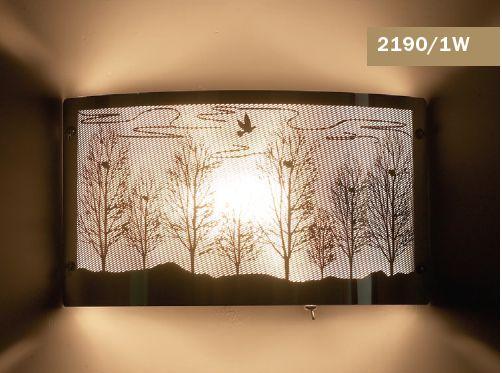 Светильник настенный Odeon Light Flan 2190/1W