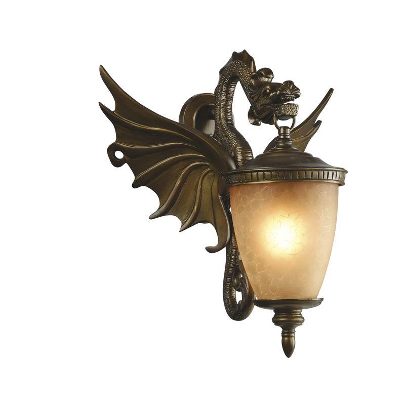Уличный настенный светильник Dragon 1717-1W
