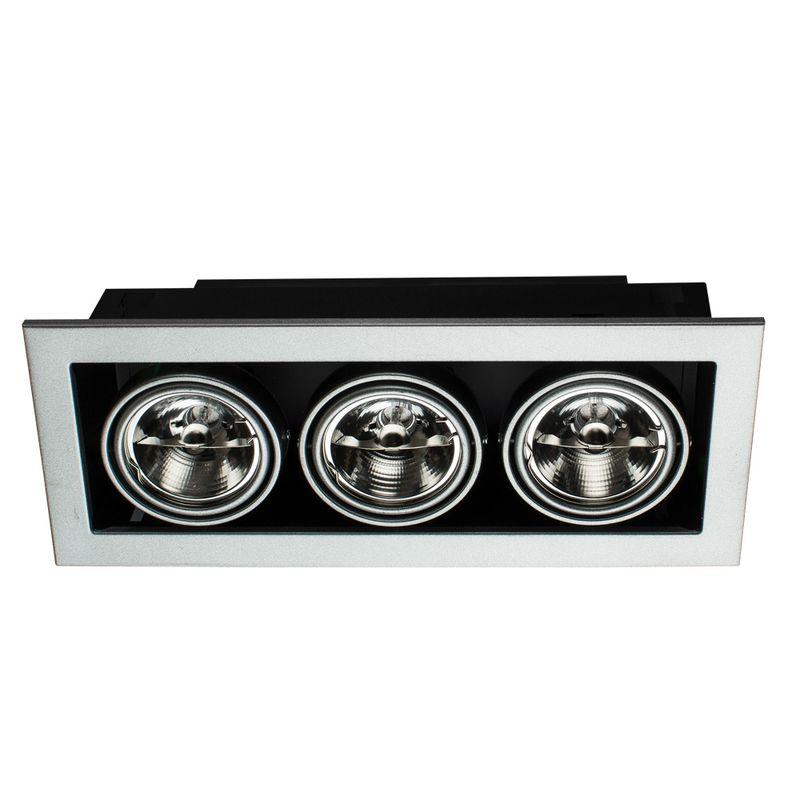 Встраиваемый светильник поворотный Arte Lamp Technika A5930PL-3SI