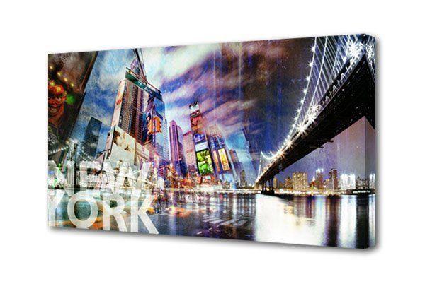 Картина на холсте Города S-4017H