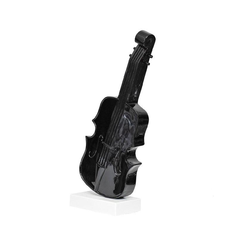 Статуэтка Скрипка D1841 черный