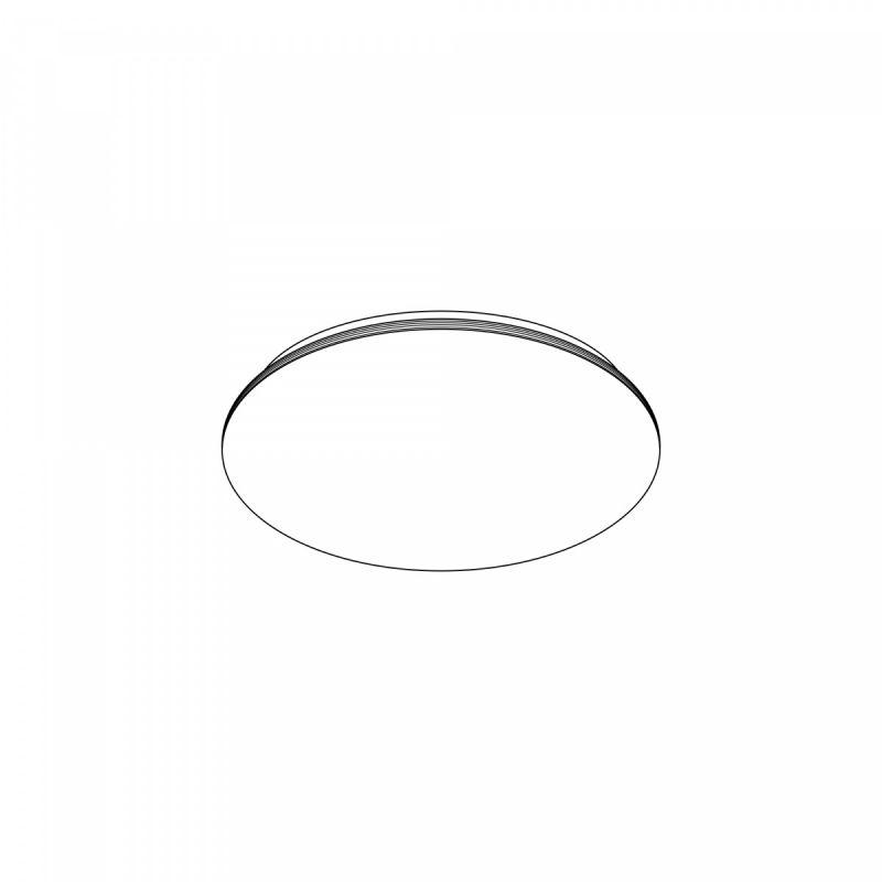 Люстра светодиодная с пультом Citilux Симпла CL714CL714330G