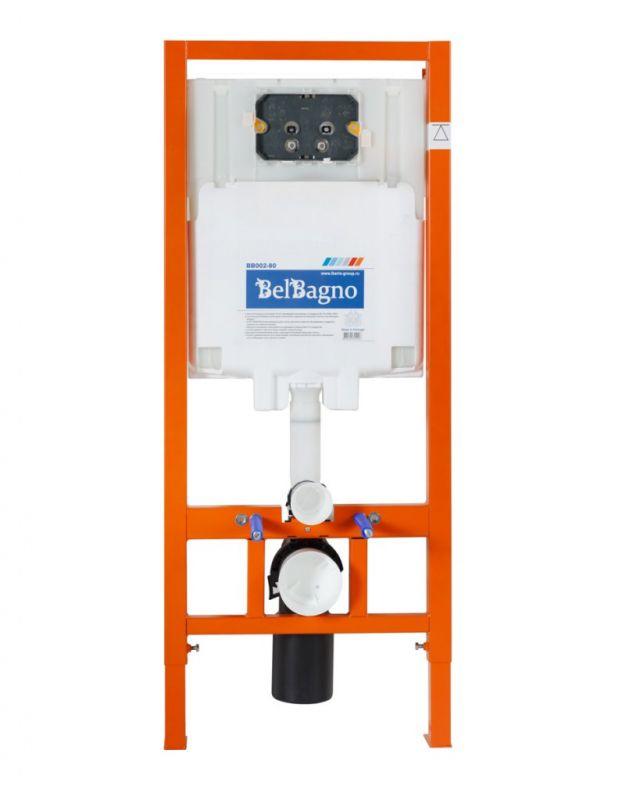 Инсталляция для подвесного унитаза BELBAGNO BB002-80 BB002-80 механика