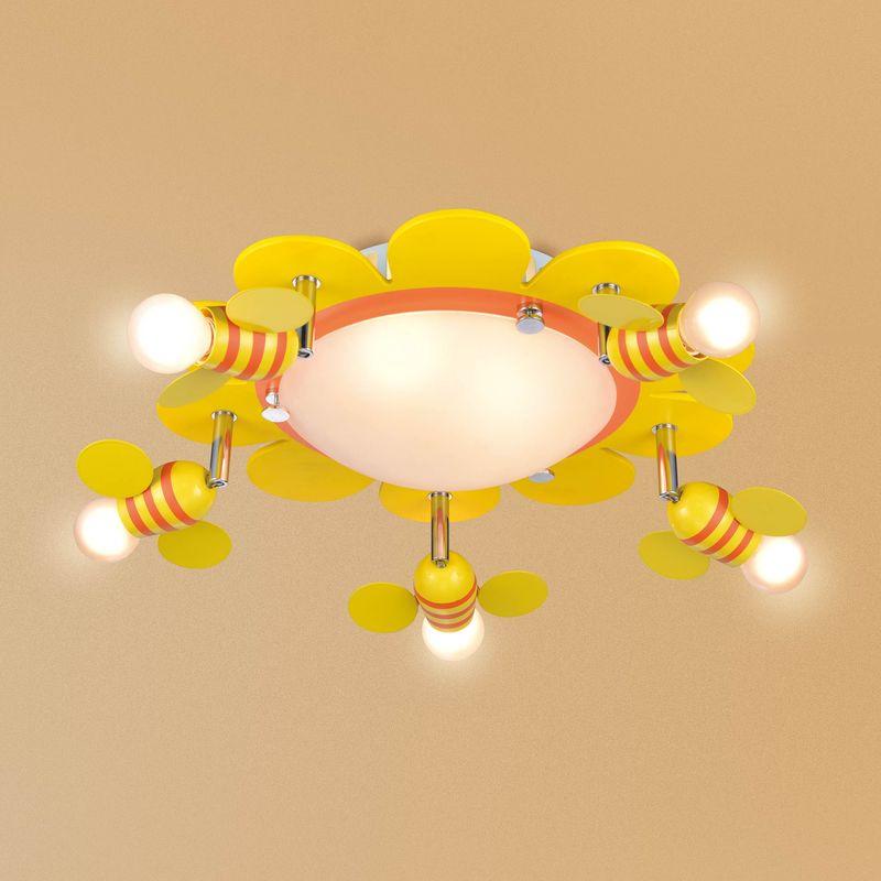 Детская потолочная люстра Пчелки CL603173