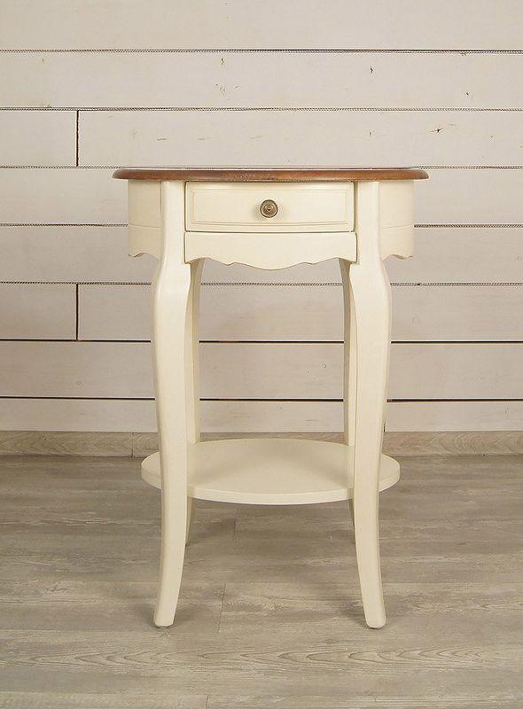Овальный кофейный стол Leontina ST9331. Фото №2