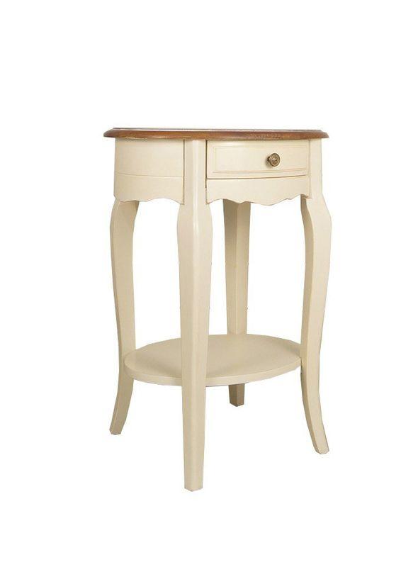 Овальный кофейный стол Leontina ST9331. Фото №5