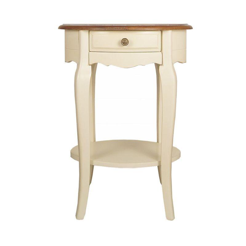Овальный кофейный стол Leontina ST9331. Фото №6