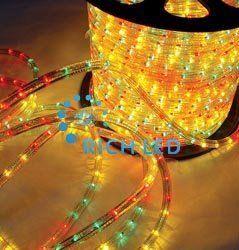 Светодиодный дюралайт Rich LED3-проводной RL-DL-3W-100-240-M