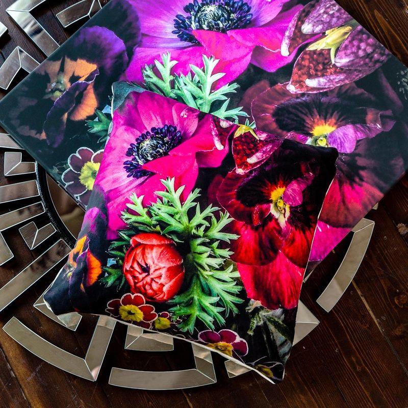 Интерьерная подушка Spring Violet 4112115. Фото №1