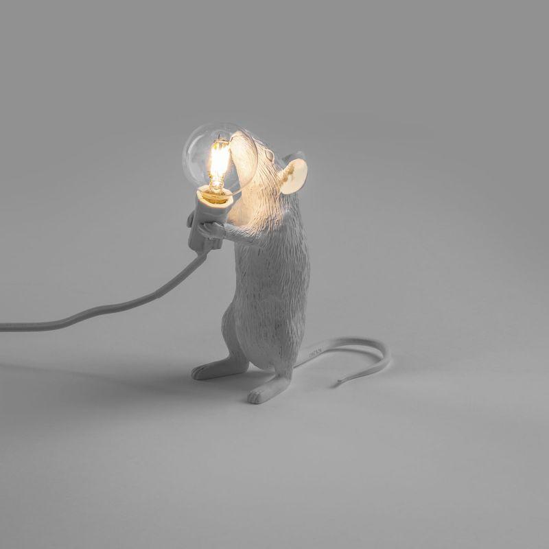 Настольная лампа Seletti Mouse Lamp 14884. Фото №1
