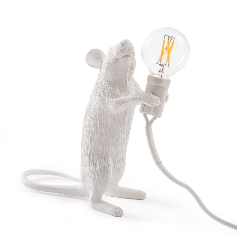 Настольная лампа Seletti Mouse Lamp 14884. Фото №3