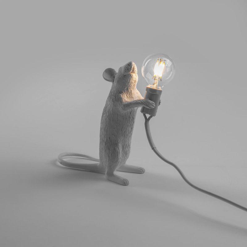 Настольная лампа Seletti Mouse Lamp 14884. Фото №4