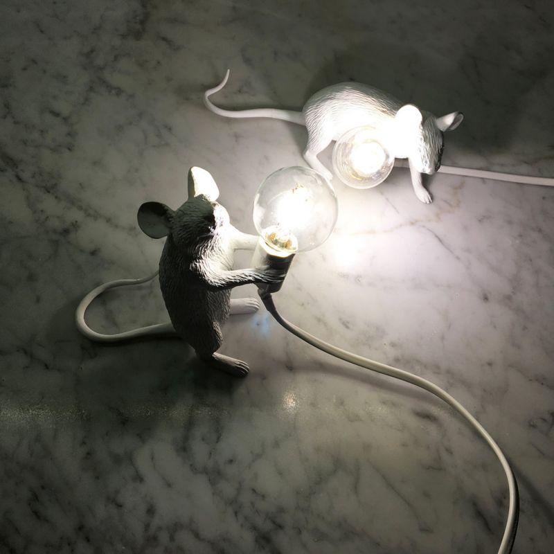 Настольная лампа Seletti Mouse Lamp 14884. Фото №8