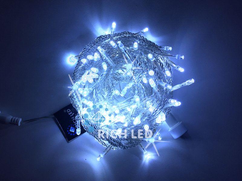 Светодиодная гирлянда Нить RL-S10CF-220V-T/W