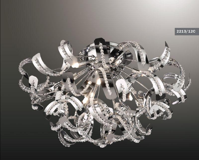 Люстра потолочная Odeon Light Elia 2213/12C