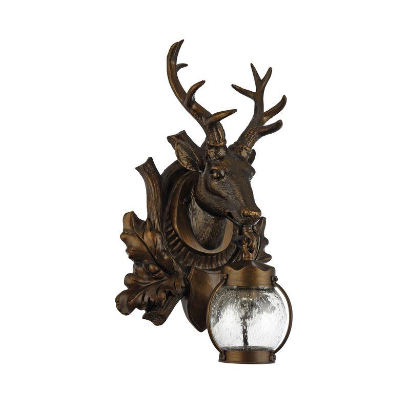 Уличный настенный светильник Hunt 1849-1W