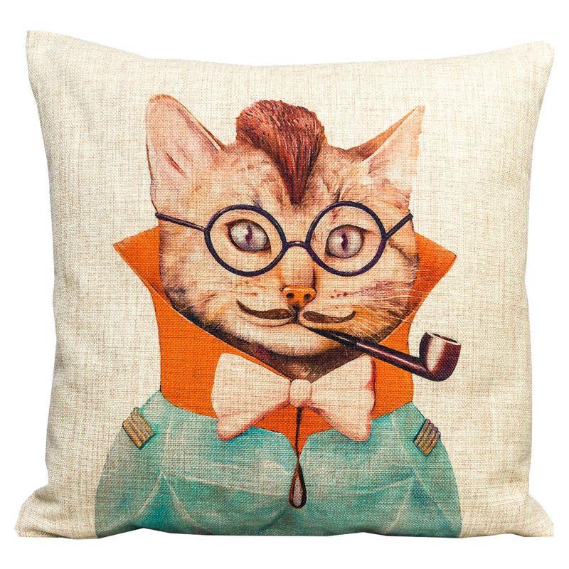 Декоративная подушка Мистер Шерлок 2718995. Фото №9