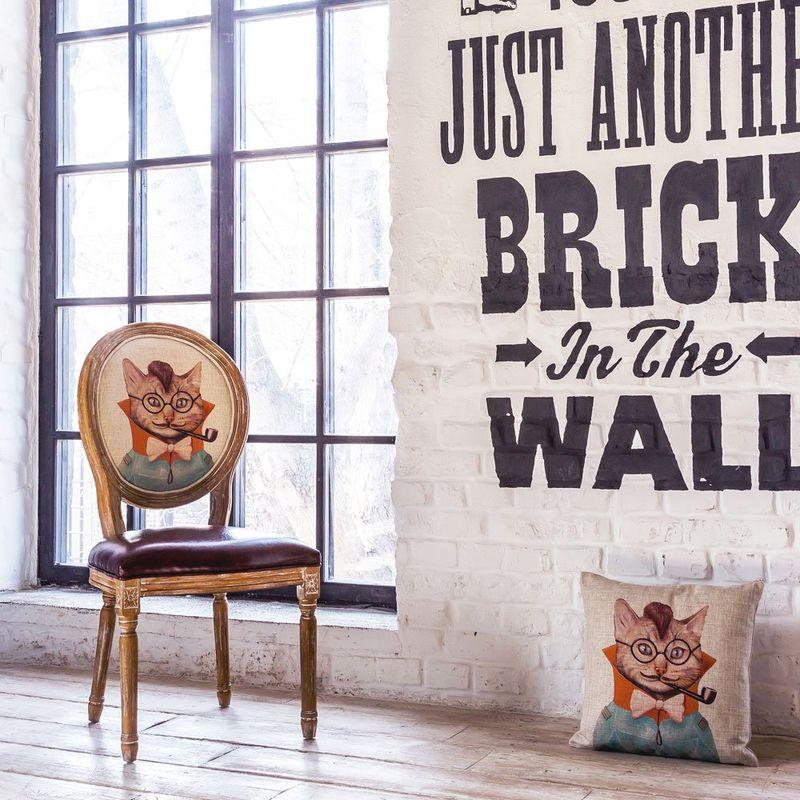 Декоративная подушка Мистер Шерлок 2718995. Фото №2