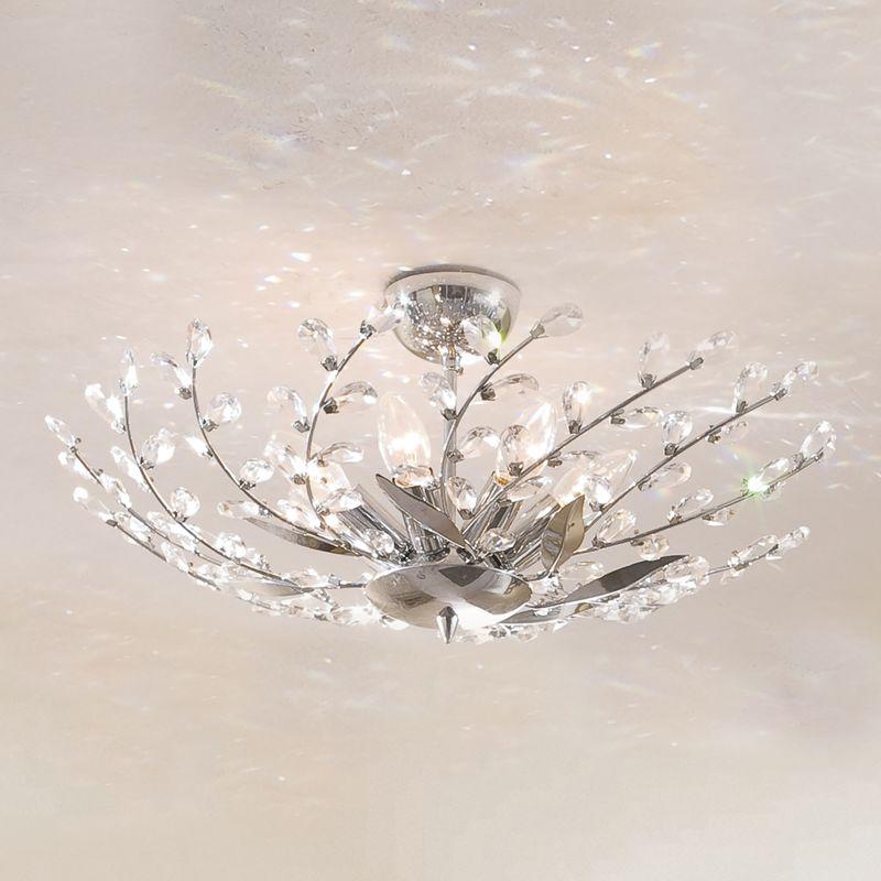 Люстра потолочная хрустальная Ривьера CL311171
