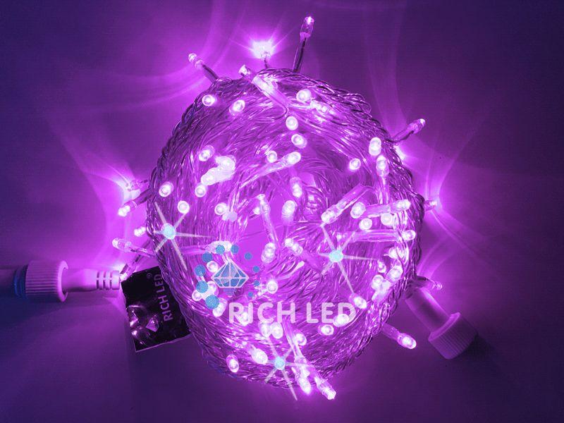Светодиодная гирлянда Нить RL-S10CF-220V-T/V