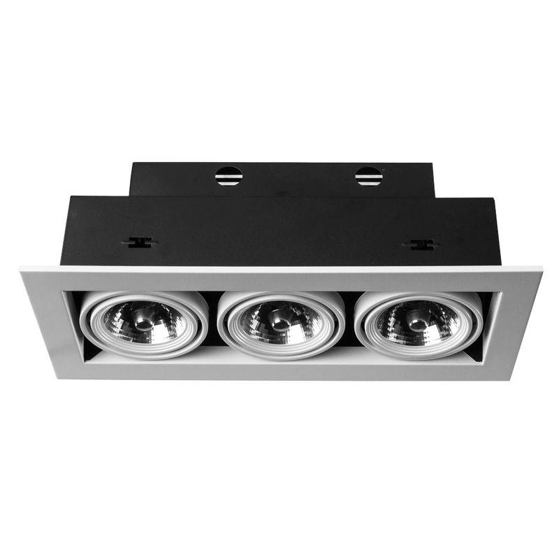 Встраиваемый светильник поворотный Arte Lamp Technika A5930PL-3WH