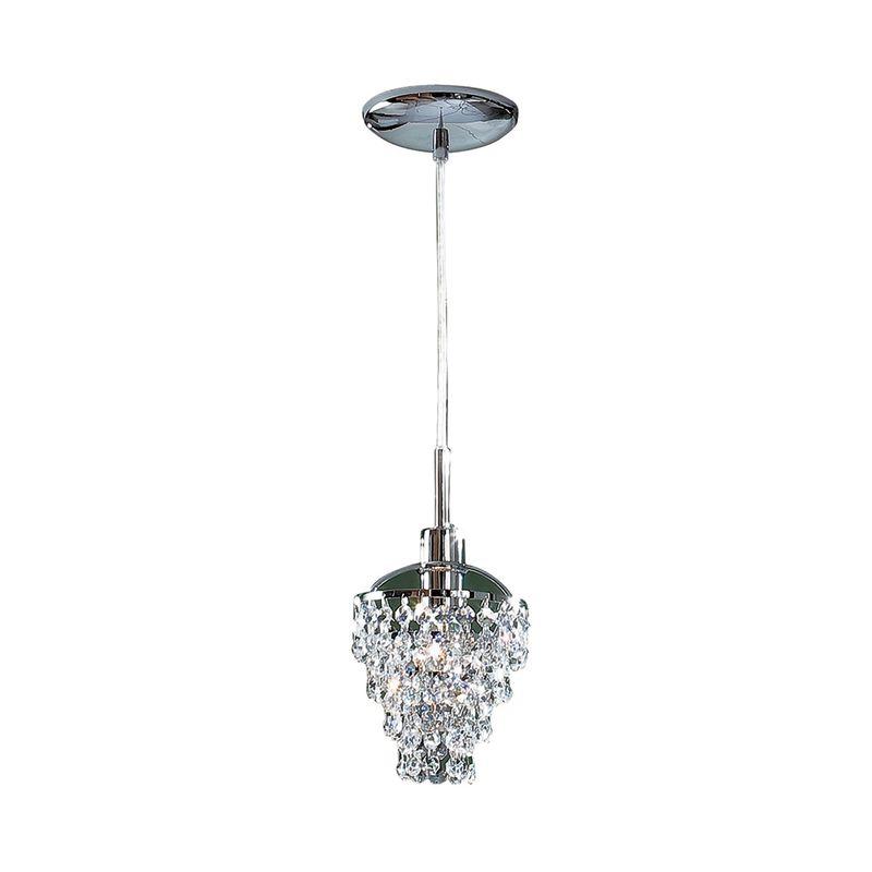 Светильник подвесной Контур Хром CL322111
