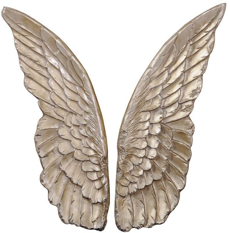 Панно Крылышки (шампань) 35506C