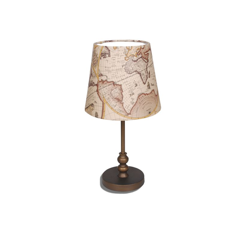 Настольная лампа декоративная Mappa 1122-1T