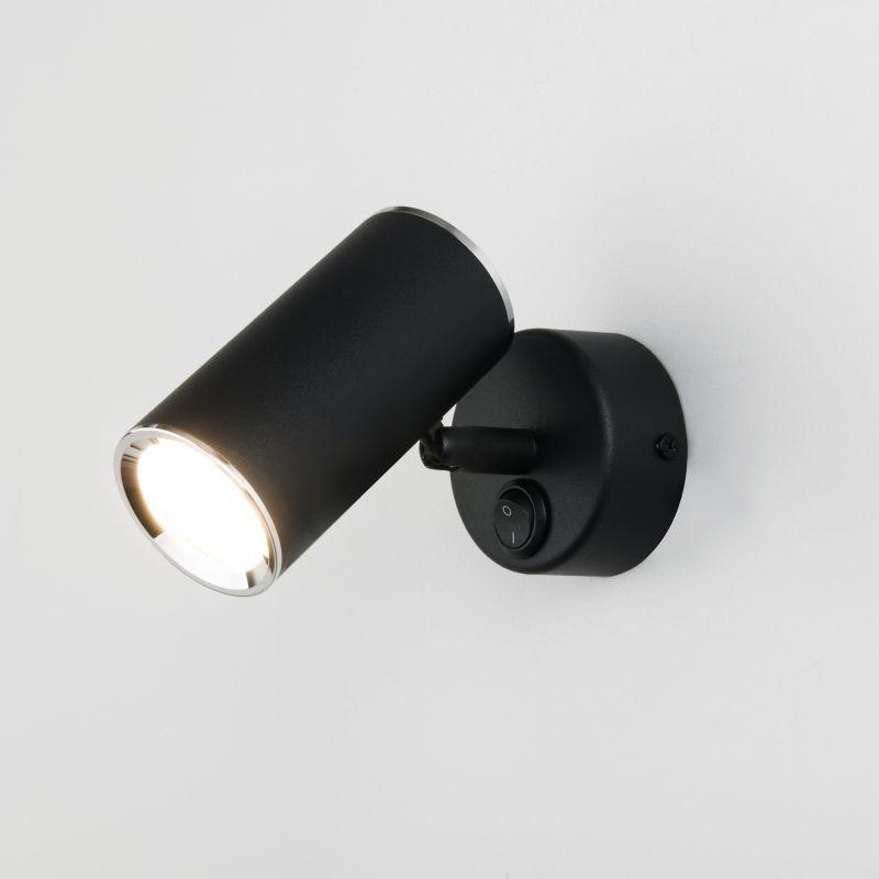 Бра Elektrostandard Rutero Rutero GU10 SW черный (MRL 1003)