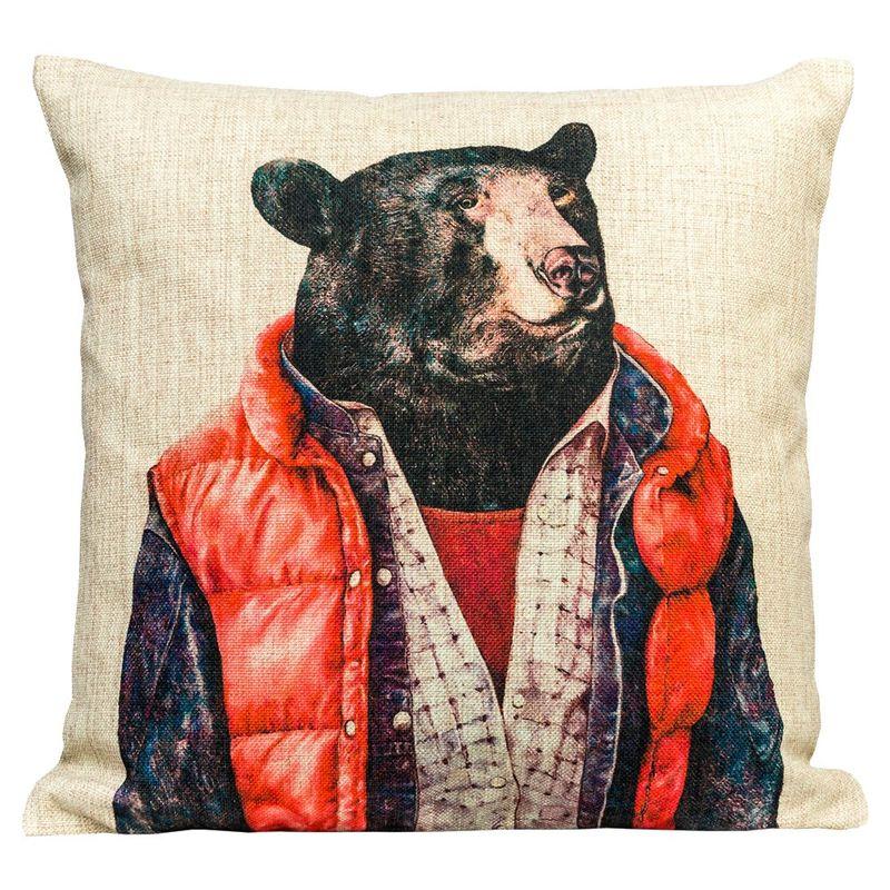 Декоративная подушка Мистер Гризли 2718992
