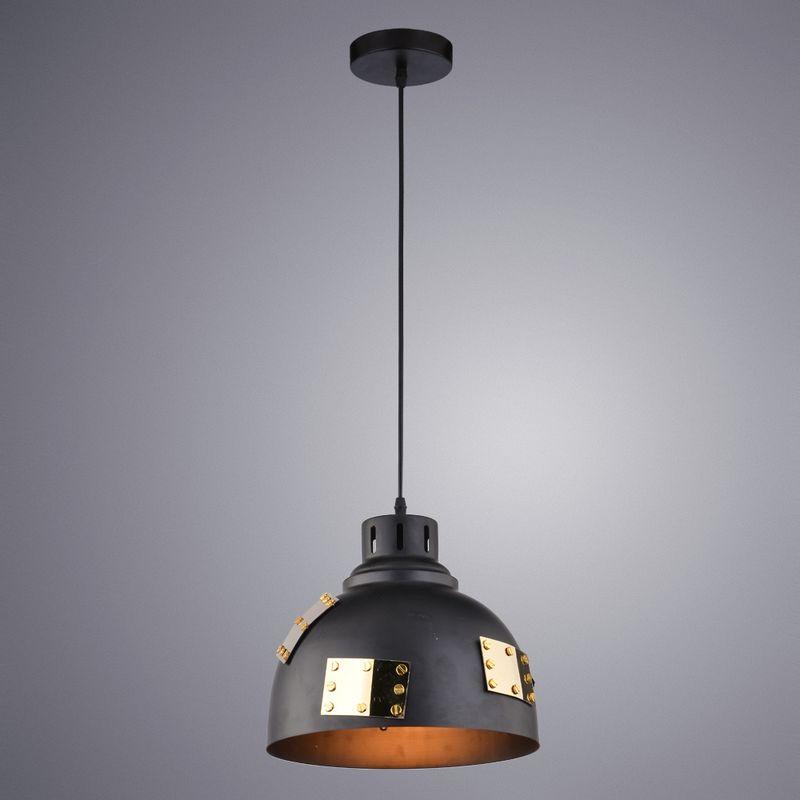 Светильник подвесной Arte Lamp Eurica A6024SP-1BK