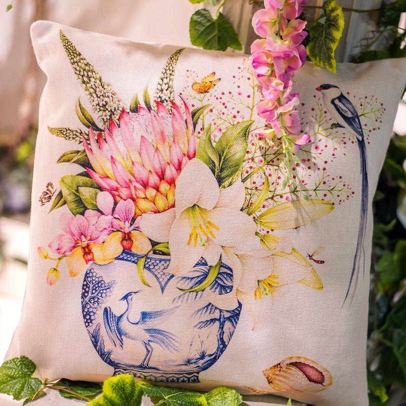 Интерьерная подушка Мечты в розовом 3112725. Фото №4