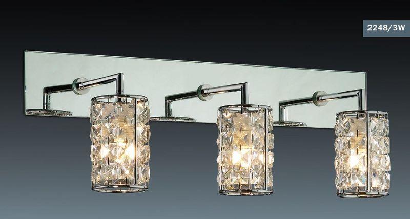 Светильник настенный для ванны Odeon Light Tori 2248/3W
