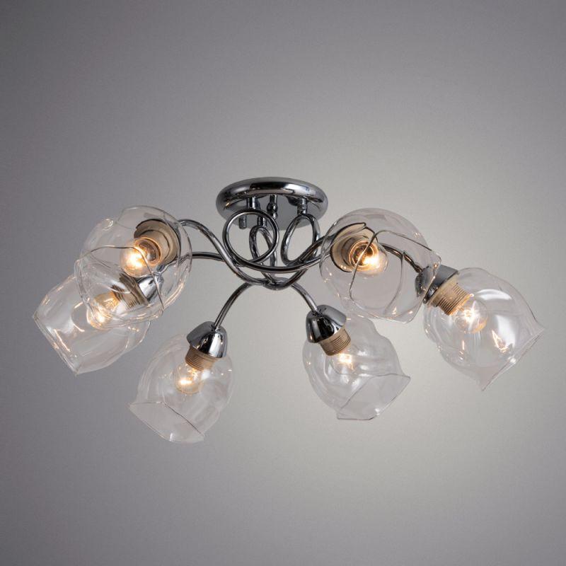 Светильник потолочный Arte Lamp RICCIO A7757PL-6CC. Фото №1