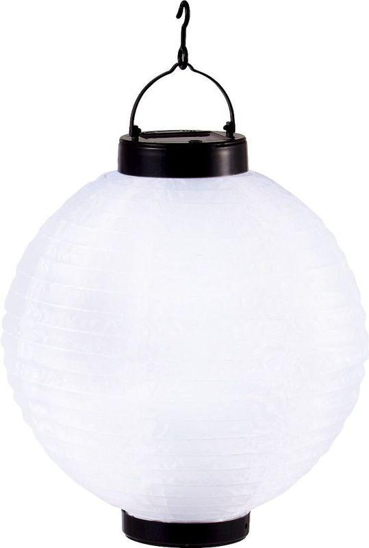 Светильник уличный подвесной светодиодный шар на солнечных батареях solare 33970