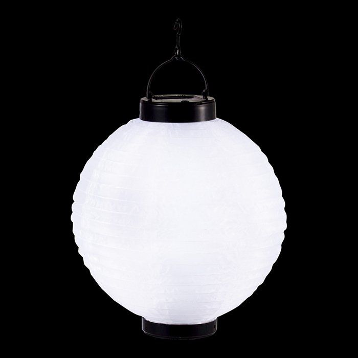 Светильник уличный подвесной светодиодный шар на солнечных батареях solare 33970. Фото №1