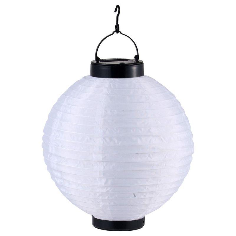 Светильник уличный подвесной светодиодный шар на солнечных батареях solare 33970. Фото №2
