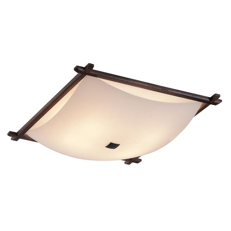 Настенно-потолочный светильник Белый в рамке
