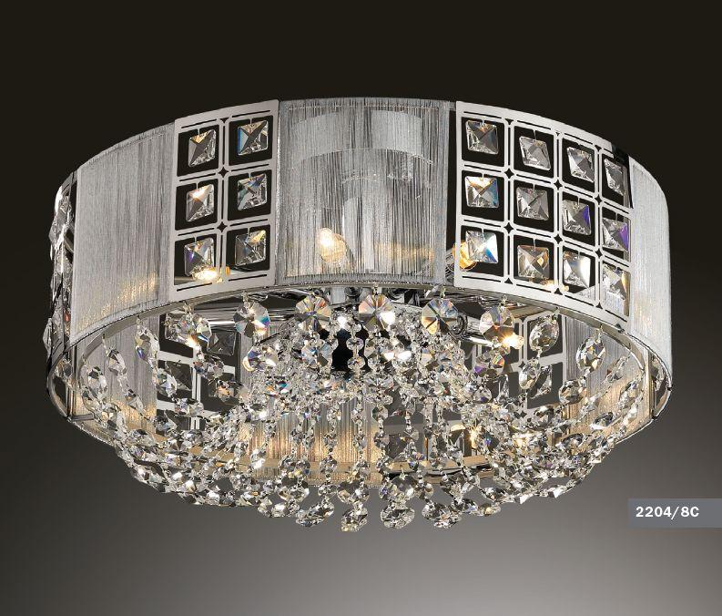 Светильник потолочный Odeon Light Korta 2204/8C