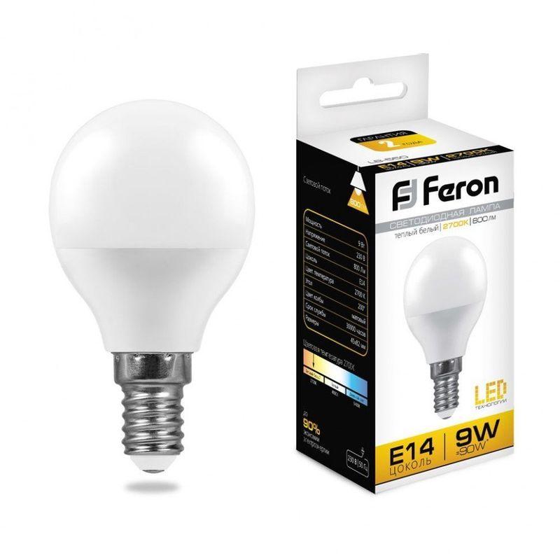 Лампа светодиодная Feron LB-550 25801