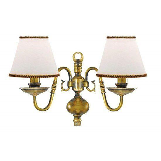 Светильник настенный Arte Lamp Decorative classic i A1020AP-2AB