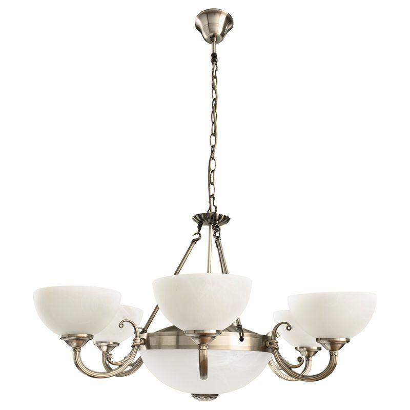 Светильник подвесной Arte Lamp Windsor white A3777LM-6-2AB