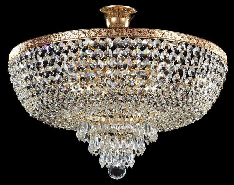 Потолочная хрустальная люстра Diamant 1 A890-PT50-G