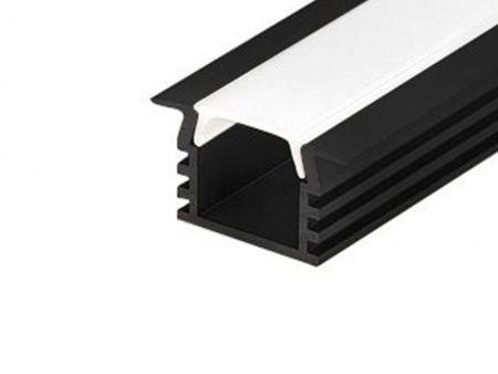 Алюминиевый Профиль ARLIGHT PDS-F-2000 ANOD Black 2977990176429
