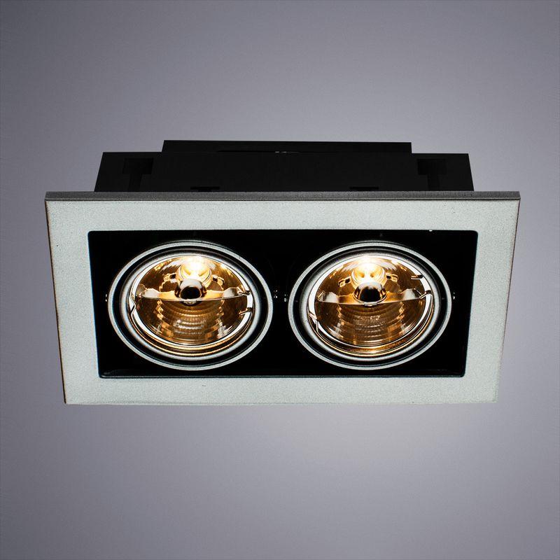 Встраиваемый светильник ПОВОРОТНЫЙ TECHNIKA A5930PL-2SI. Фото №1