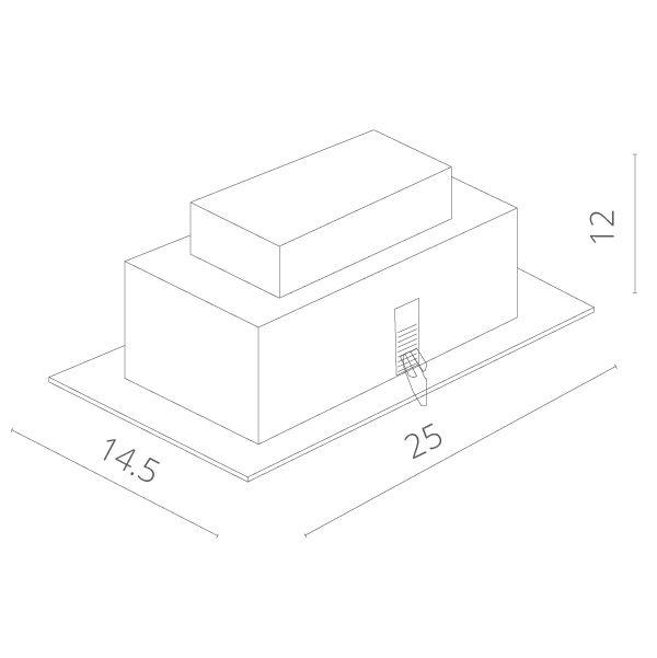 Встраиваемый светильник ПОВОРОТНЫЙ TECHNIKA A5930PL-2SI. Фото №4
