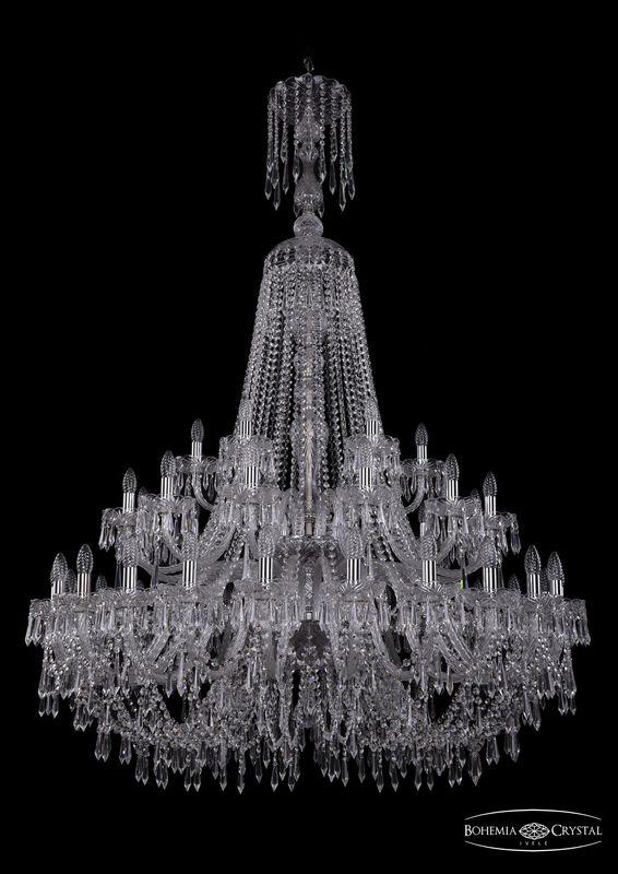 Люстра Bohemia Ivele Crystal 1403/24+12+6/460/XL-177/2d Ni